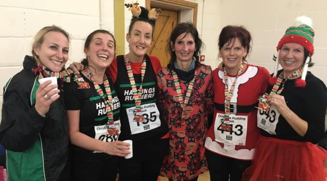 Christmas Pudding Dash Race Report