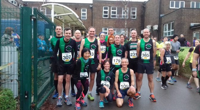 Crowborough 10K (24-11-2019)