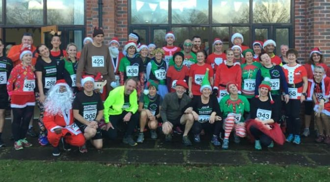 Christmas Pudding Dash (21-12-2019)