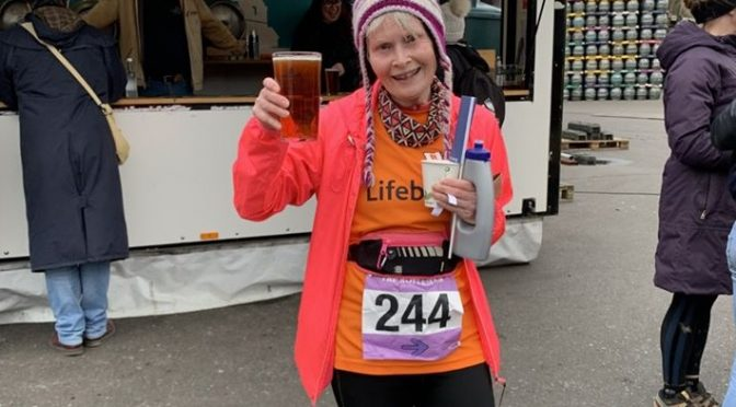 Sarah Marzaioli joins the 100 Marathon Club