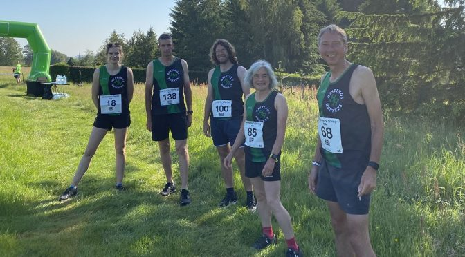 A Busy Weekend for Hastings Runners